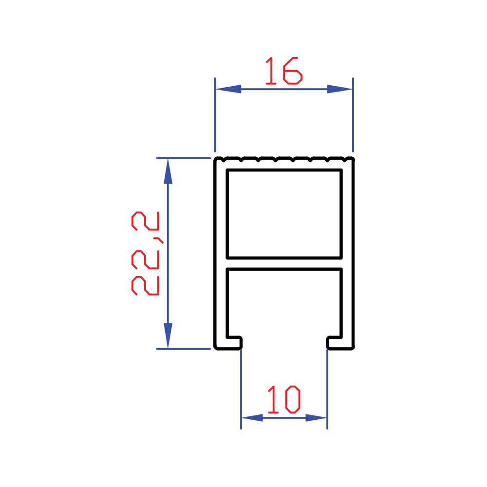8406-274-gr-m-16x22-alt-cita-profili-10-mm